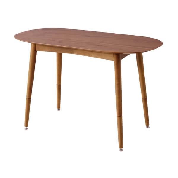 【送料無料】【W100cm】ダイニングテーブル(単品)高さ調節/ダイニングテーブル 天然木 テーブル 食卓テーブル カフェテーブル ダイニング リビングダイニング 家具 おしゃれ 人気 かわいい シンプル ナチュラル アジャスター付