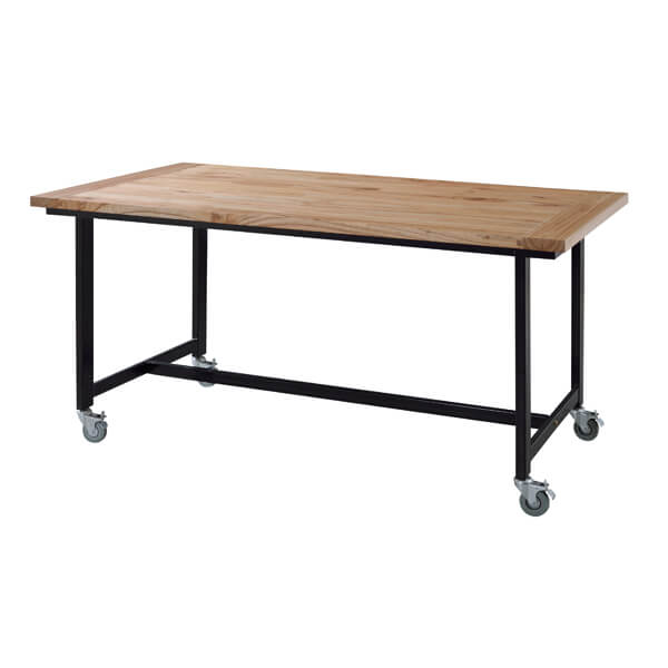 【送料無料】【W150cm】ダイニングテーブル(単品)【キャスター付き】/ダイニングテーブル テーブル tabLe 食卓テーブル カフェテーブル 食卓 ダイニング リビングダイニング 人気 おしゃれ かわいい シンプル