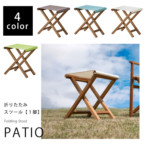 Fancy Folding Stools Single Chair Wooden Canvas White Colorful Gardening Balcony Outdoors Camping Garden Ottoman