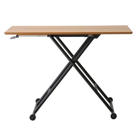 【送料無料】リフティングテーブル/ リフティングテーブル 昇降式テーブル 木製テーブル テーブル 机 木製リビングテーブル ダイニングテーブル 作業台 作業テーブル リビングテーブル