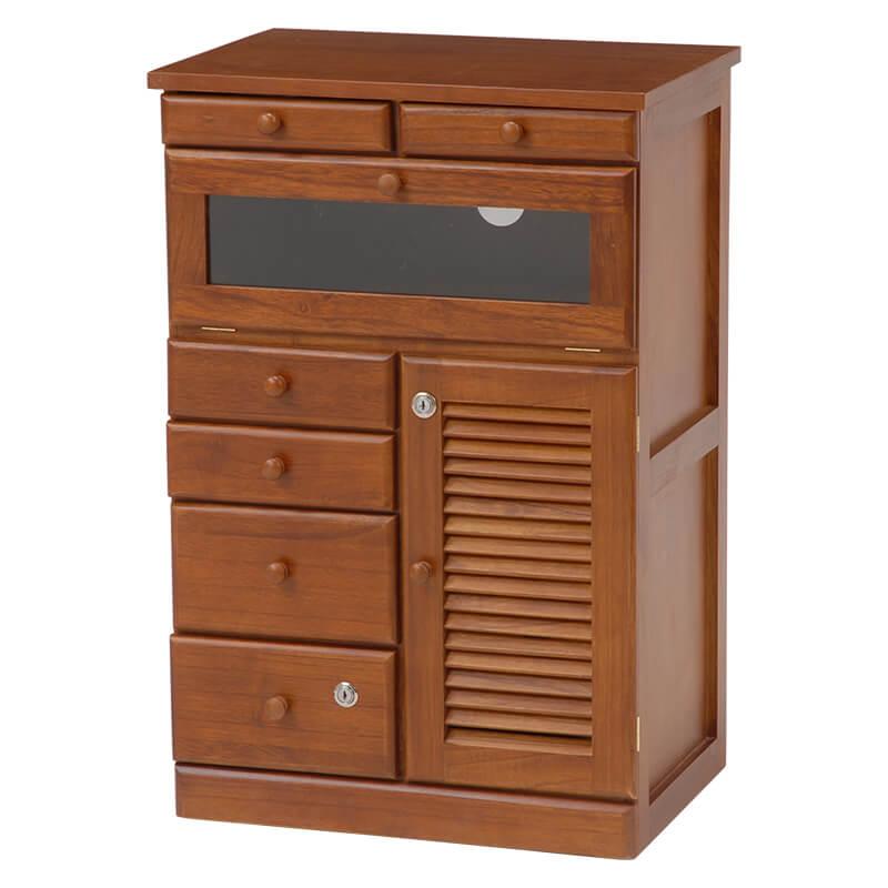 【送料無料】【幅52cm】ファックス台【隠しキャスター】【鍵付き引出し】/FAXボード ファックスボード ファックス置き faX置き FAX置き 電話台 FAX台 faX台 ファックス台 収納 収納棚 収納家具 棚