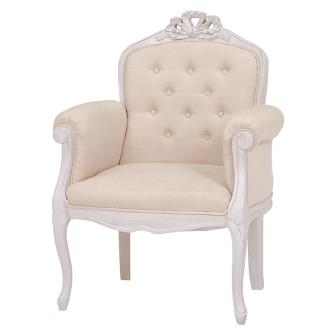 The Cute White That A Feeling Of Chair / Chair Stylish Feminine Luxurious  Go Japanese Agricultural Standards Rich Antique Design Princess Shows Cute