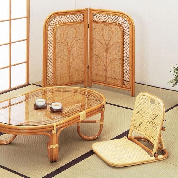 Koreda Screen Two Pieces Fold Furniture Rattan Furniture