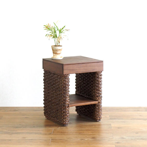 Side Table / Furniture Interior Table Side Table Coffee Knight Desk Sofa  Side Bedside Flower Stand Teak Water Hyacinth Horse Mackerel Ann Ethnic  Southern ...