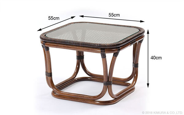 The Compact High Quality That Side Table / Furniture Rattan Furniture  Interior Table Cocktail Table Side Table Center Table Desk Rattan Rattan  Glass ...
