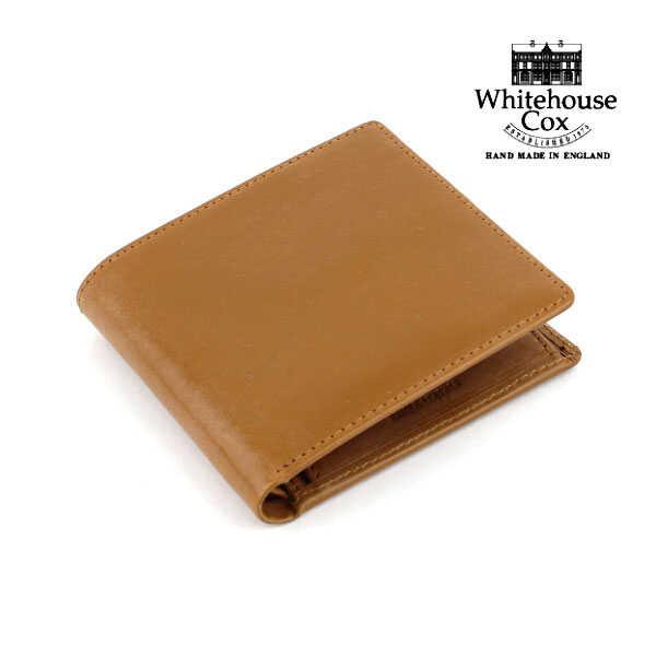 """【ホワイトハウスコックス Whitehouse Cox】ブライドルレザー 二つ折り財布 """"NC/COIN CASE""""・S7532-1831702【メンズ】【レディース】【小物】【JP】"""