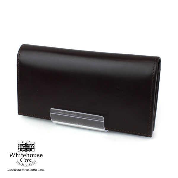【ホワイトハウスコックス Whitehouse Cox】ブライドルレザー  長財布・S9697-1832001【レディース】【小物】【JP】