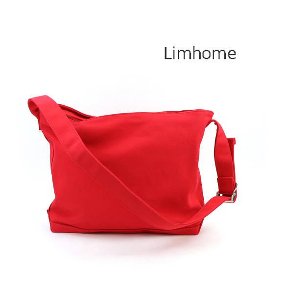 【リムホーム Lim Home】コットンキャンバス Clap Bag ショルダーバッグ クラップバッグ・LH-M005-3301702【メンズ】【レディース】【A4】