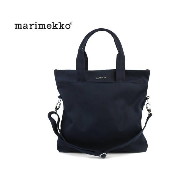 【マリメッコ marimekko】コットンキャンバス 2WAY トートバッグ ショルダーバッグ CANVAS BAGS・52169244308-0061702【メンズ】【レディース】【A4】