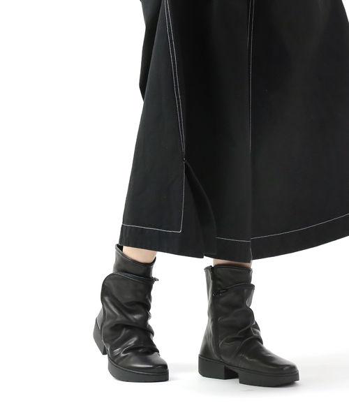TRIPPEN(トリッペン)レザー ショートブーツ ポケット付きブーツ クラッチ CLUTCH・CLUTCH-SAT-0071902【レディース】【■■】【B-1】