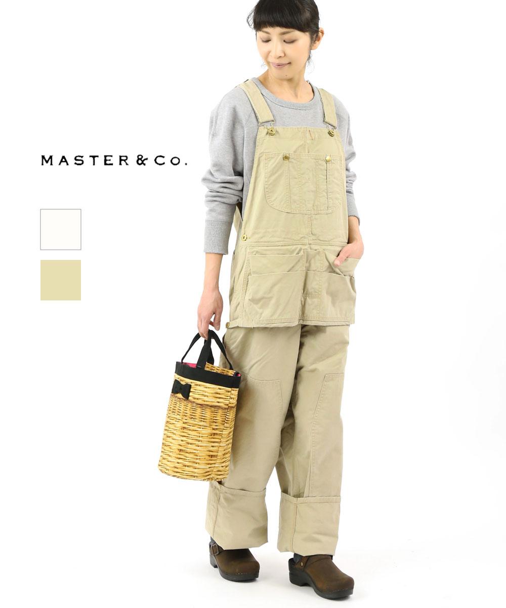 Master&Co.(マスターアンドコー)コットンチノ オーバーオール サロペット オールインワン・MC668-3281902【レディース】【■■】