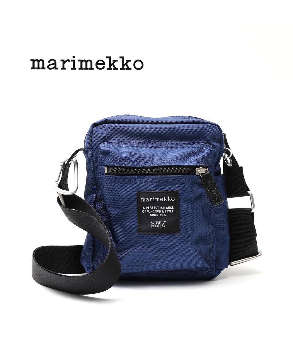 marimekko(マリメッコ)ナイロン ミニショルダーバック CASH & CARRY・52193247020-0061901【メンズ】【レディース】【JP】【■■】