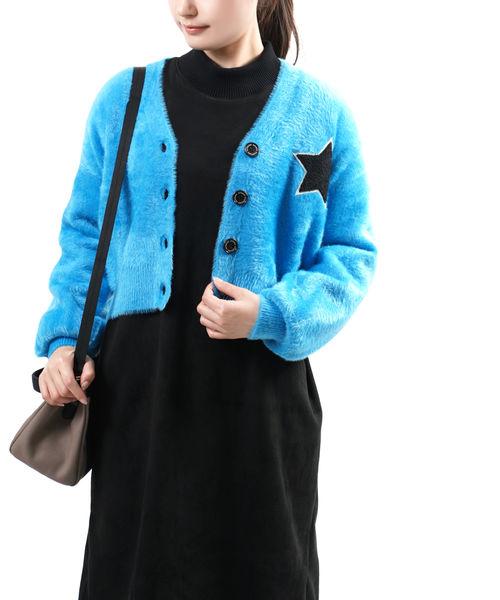永遠の定番 送料無料 2020年秋冬新作 DOUBLE STANDARD CLOTHING ついに再販開始 ダブルスタンダードクロージング レディース シャギーモール Vネックカーディガン 0209-021-204-4452002 ■■