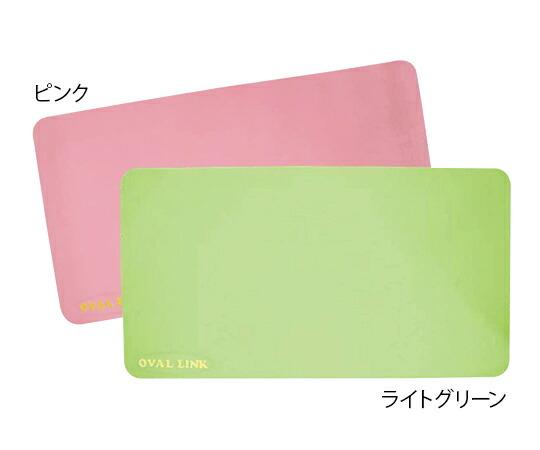 オーバルリンク 浴室用マット 人気激安 NEW売り切れる前に☆ ライトグリーン
