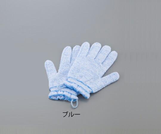 爆売り 浴用手袋 やさしい手 テレビで話題 ブルー