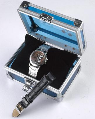 【すぐに使える10%OFFクーポン】オールドミッキー高級腕時計【送料無料】オールドミッキー世界完全限定8.000本の逸品!ミッキーの生まれた「蒸気船ウイリー」公開から77周年記念モデル!