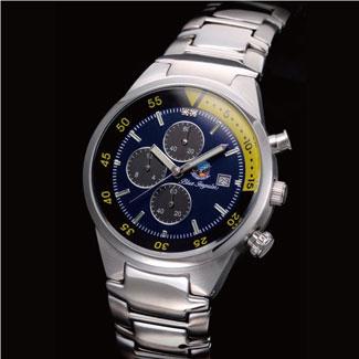 【すぐに使える10%OFFクーポン】ブルーインパルスリミテッド クロノグラフウォッチル【送料無料】 航空自衛隊のなかでも選りすぐりの精鋭部隊!2000本限定販売!ルーインパルスの歴史を繋ぐ正式ライセンス腕時計!