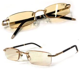 【すぐに使える10%OFFクーポン】シェンディーローラ 養生健康メガネ(htp298yoj)【送料無料】有害光線を吸収する働きを持つメラニンを人工的に生成して練り込んだレンズを採用!メラニンが眼と目元を保護!!