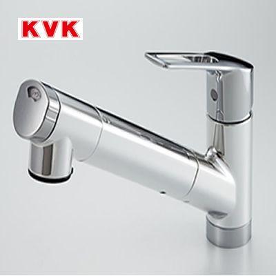 KVK 浄水器一体型専用水栓 KM6001EPC 浄水カートリッジ内蔵 ラクシーナ※こちらの商品はパナソニック品番では、「QSKM6001EPC」になります