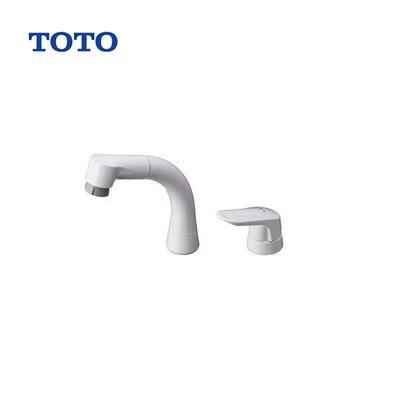 【送料無料】未開封 TOTO TL362E1S 台付2穴 洗面用シングルレバー混合栓 水栓金具 ハンドシャワー 【TL362E1R の後継品】
