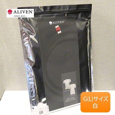 【送料無料】アライヴン mig3 レディースストレッチTシャツ 半袖 サイズ:G/カラー:白