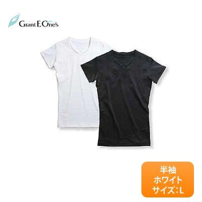 【送料無料】グラント・イーワンズ BiBi Grant ビビ メンズ パンプ 半袖 〈カラー:ホワイト / サイズ:L〉