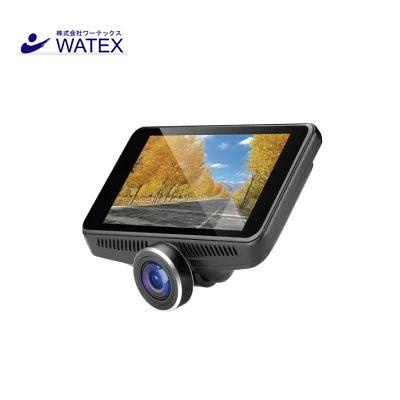 WATEX/ワーテックス カメラ360°超広角視野ドライブレコーダー(リアカメラ付き) DVR-360-2