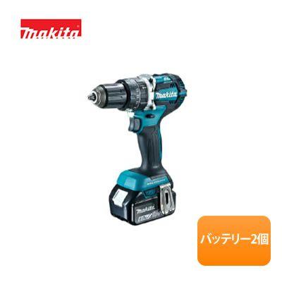 マキタ/makita 18V 充電式ドライバドリル DF484DRGX[バッテリ (6.0Ah)×2本・充電器・ケース付]