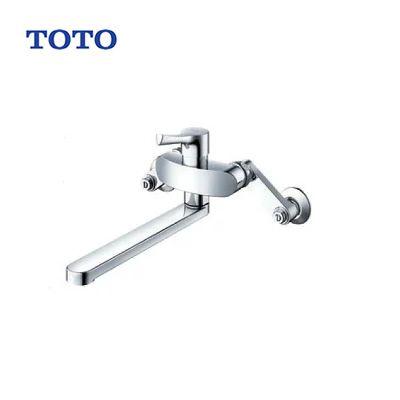 壁付 キッチン用 TOTO シングルレバー混合水栓 TKS05315J エコシングル