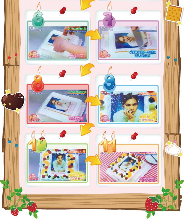 写真ケーキ(四角) 生チョコ 7号【冷凍 到着後は冷蔵庫で4~5時間保管解凍】 21×21cm