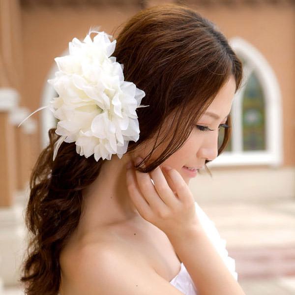 売れ筋 在庫処分 コサージュ用造花10個 通販 激安◆ 髪飾り用造花 アクセサリー用造花 造花 手芸用品デコパージュ コサージュやブーケ作りの材料としても最適な造花です
