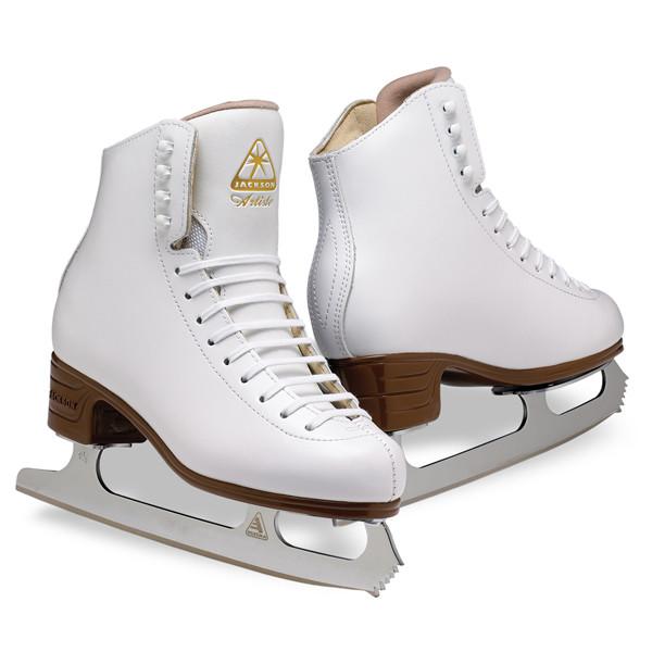 图溜冰鞋白 Jackson 艺术家加集