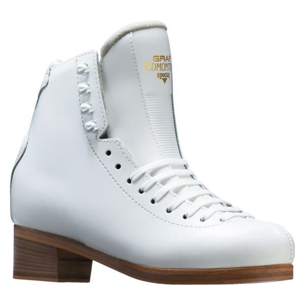 フィギュアスケート スケート靴 GRAF(グラフ) エドモントン スペシャル 白