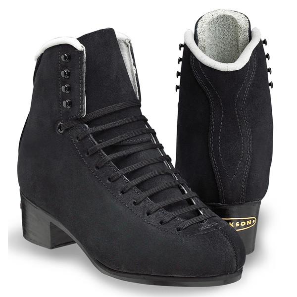 フィギュアスケート エリート スケート靴 スケート靴 JACKSON(ジャクソン) 黒スエード エリート 黒スエード, 天衡商事:69e74162 --- sunward.msk.ru