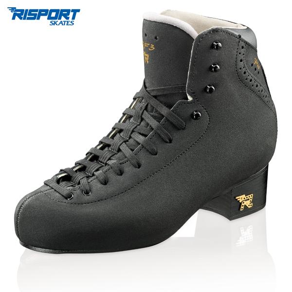 フィギュアスケート スケート靴 RISPORT(リスポート) RF3 PRO 黒 C幅