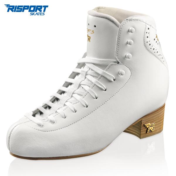 フィギュアスケート スケート靴 RISPORT(リスポート) RF3 PRO 白 C幅