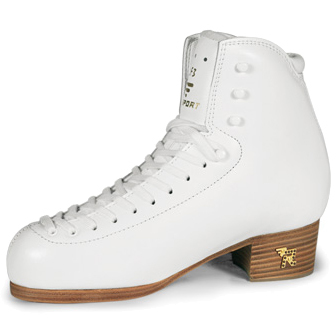 フィギュアスケート スケート靴 RISPORT(リスポート) RF3 白 C幅