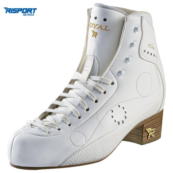フィギュアスケート スケート靴 RISPORT(リスポート) ROYAL ELITE 白 C幅