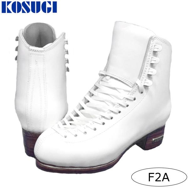 花样滑冰滑冰鞋KOSUGI(KOSUGI)F2A白/黑
