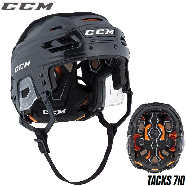 アイスホッケー ヘルメット CCM(シーシーエム) タックス 710