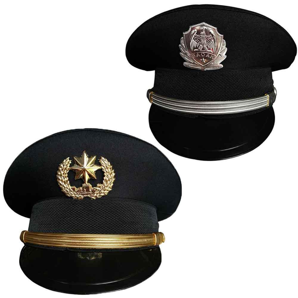ポリス 帽子 単品 受注生産品 警官 コスプレ 警察官 ハロウィン コス トラスト コスチューム 仮装 制帽