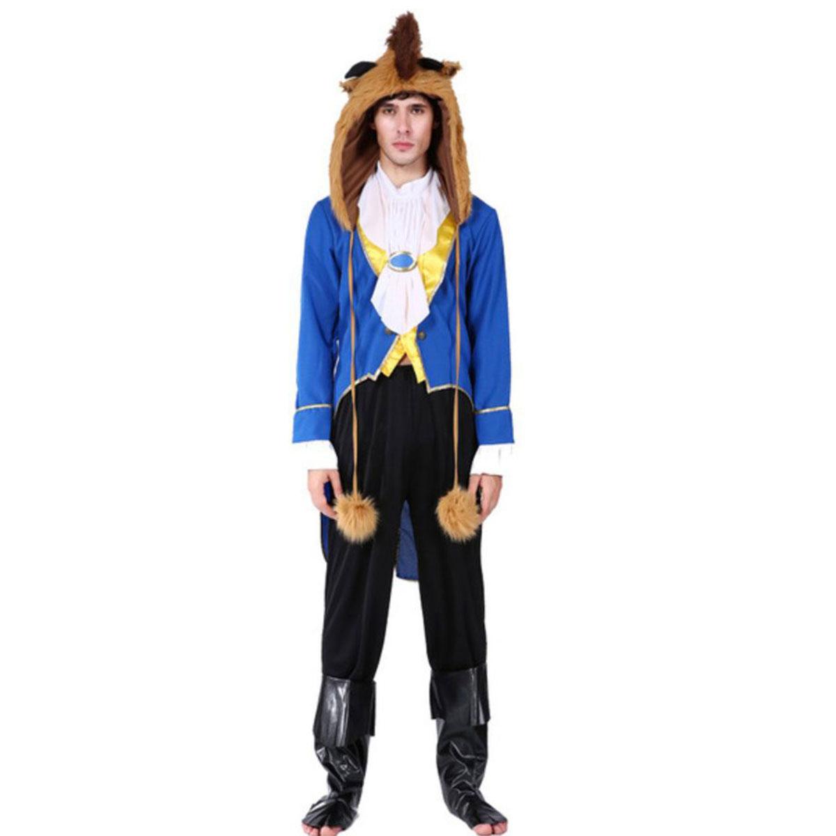 美女と野獣 野獣 コスプレ 王子 コスチューム ハロウィン 仮装 衣装