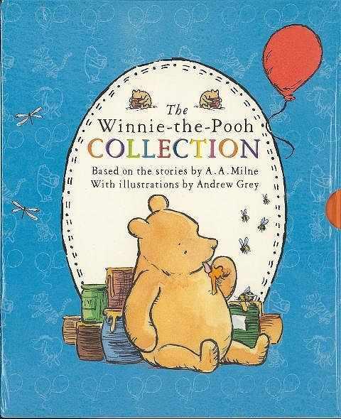 バーゲンブック The 通販 WinnieーtheーPooh COLLECTION 割引 5 set 中古 books box