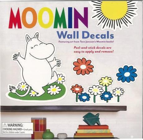販売期間 限定のお得なタイムセール 豪華な バーゲンブック MOOMIN Wall Decals 中古