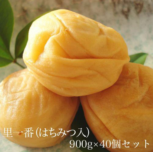 里一番(はちみつ入)900g × 40個セット 【和歌山県産】 【10P03Aug09】