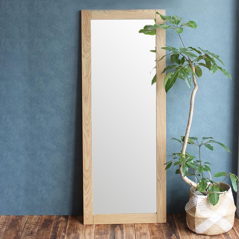 【送料無料】anthem Mirror 鏡 ミラー 姿鏡 全身 姿見 木製 天然木 北欧 デザイン 家具 anm-2920 emo mirror 木製 鏡 シンプル オーク リビング 玄関 収納 ミラー 全身 鏡 かがみ アンセム エモ ナチュラル 自然 引越し プレゼント ミラー 姿