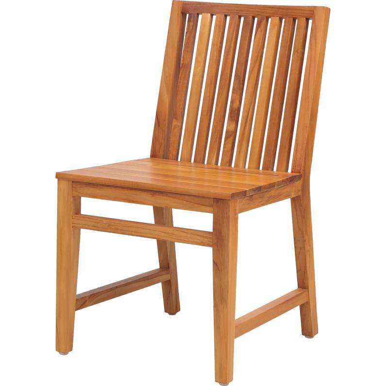 【2脚セット】[送料無料] チェア LFP Side Chair ダイニングチェア dining chair 椅子 イス 1人掛け 1Pチェア 天然木 チーク材 インテリア lfpc-3036na 木製 ウッドチェア 背もたれ 食事椅子 キッチン ダイニング 家具 カフェ 北欧 おしゃれ ショップ