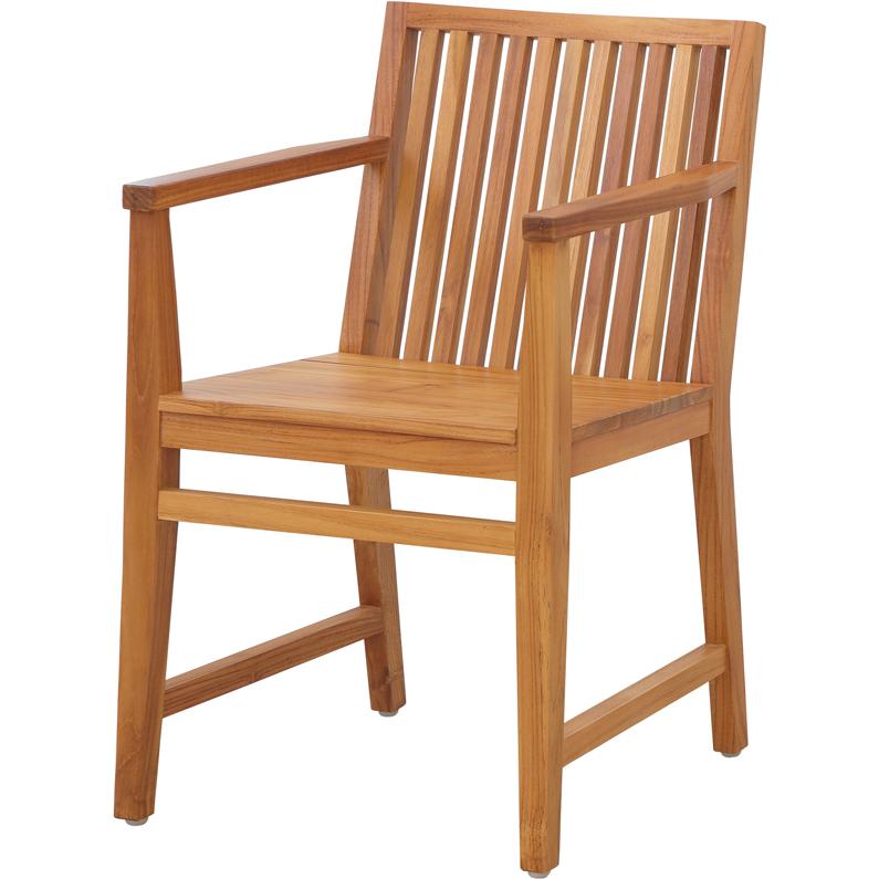 [送料無料] アームチェア LFPC-3037NA ダイニングチェア LFP Arm Chair 肘掛け 肘おき 椅子 イス 1人掛け 1Pチェア 天然木 チーク材 書斎 くつろぎ デスクチェア リビング 木製 ウッドチェア 背もたれ 食事椅子 キッチン ダイニング 家具 カフェ 北欧