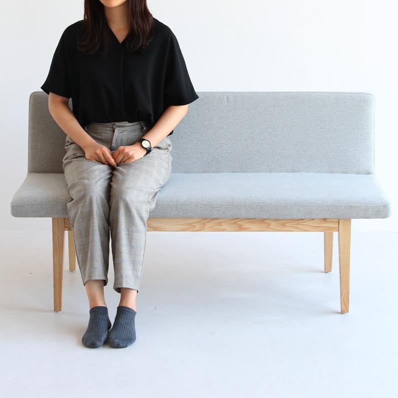 [送料無料] ベンチ SUITE Backrest Bench 背もたれ ダイニングベンチ チェア 椅子 ソファー