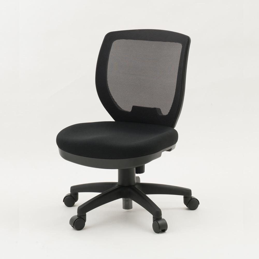 低い椅子デスクチェアLDcS-W47.5、座面の高さ38cm~43cm、背もたれまでの座面の奥行38cm、シート幅47.5cm、創造的ダイバーシティー・デスクチェア